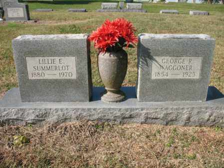 WAGGONER SUMMERLOT, LILLIE E - Cross County, Arkansas | LILLIE E WAGGONER SUMMERLOT - Arkansas Gravestone Photos