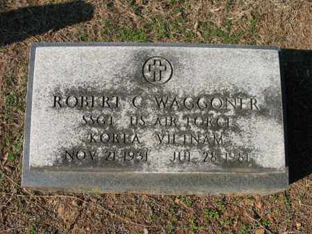 WAGGONER (VETERAN 2 WARS), ROBERT C - Cross County, Arkansas | ROBERT C WAGGONER (VETERAN 2 WARS) - Arkansas Gravestone Photos