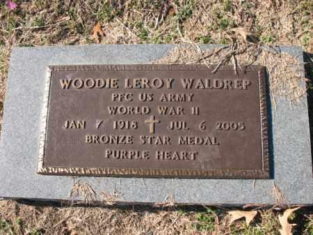 WALDREP (VETERAN WWII), WOODIE LEROY - Cross County, Arkansas | WOODIE LEROY WALDREP (VETERAN WWII) - Arkansas Gravestone Photos