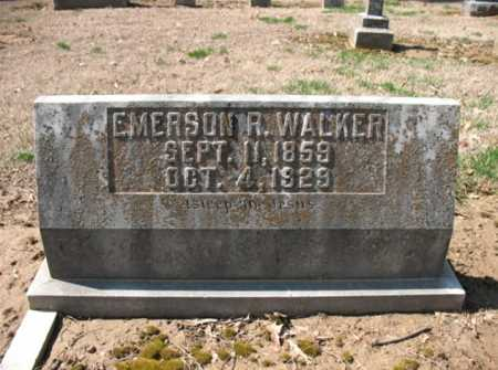 WALKER, EMERSON R. - Cross County, Arkansas | EMERSON R. WALKER - Arkansas Gravestone Photos