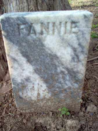 WALKER, FANNIE - Cross County, Arkansas | FANNIE WALKER - Arkansas Gravestone Photos