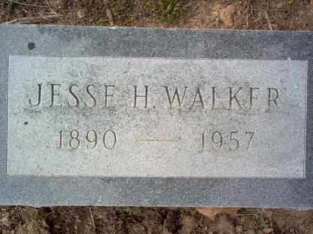 WALKER, JESSE H - Cross County, Arkansas | JESSE H WALKER - Arkansas Gravestone Photos