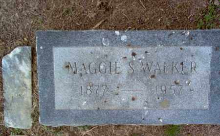 WALKER, MAGGIE S - Cross County, Arkansas | MAGGIE S WALKER - Arkansas Gravestone Photos