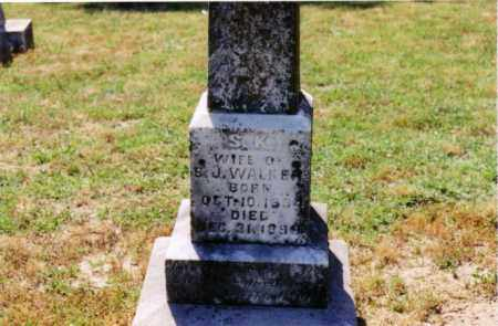 WALKER, S. K. - Cross County, Arkansas | S. K. WALKER - Arkansas Gravestone Photos