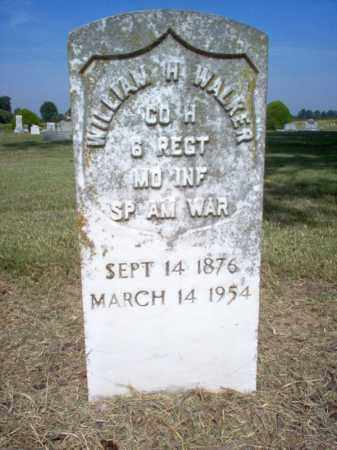 WALKER (VETERAN SAW), WILLIAM H - Cross County, Arkansas | WILLIAM H WALKER (VETERAN SAW) - Arkansas Gravestone Photos