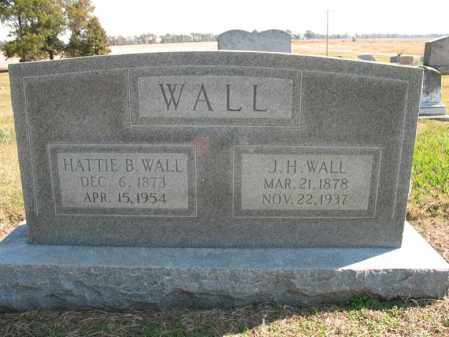 WALL, HATTIE B - Cross County, Arkansas | HATTIE B WALL - Arkansas Gravestone Photos