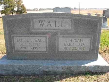 WALL, J H - Cross County, Arkansas | J H WALL - Arkansas Gravestone Photos