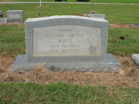 WALL, LELAND ORTEN - Cross County, Arkansas | LELAND ORTEN WALL - Arkansas Gravestone Photos