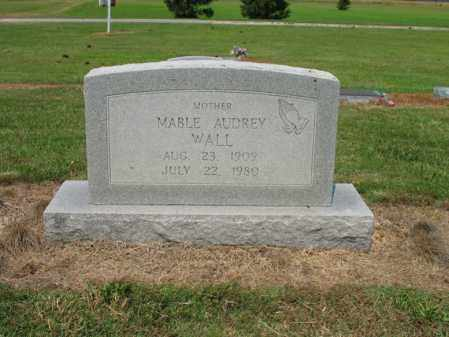 WALL, MABLE AUDREY - Cross County, Arkansas | MABLE AUDREY WALL - Arkansas Gravestone Photos