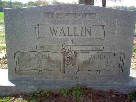 WALLIN, LOUISE - Cross County, Arkansas | LOUISE WALLIN - Arkansas Gravestone Photos