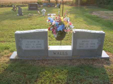 WALLS, ARTHUR M - Cross County, Arkansas | ARTHUR M WALLS - Arkansas Gravestone Photos