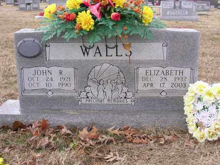 WALLS, JOHN R - Cross County, Arkansas | JOHN R WALLS - Arkansas Gravestone Photos