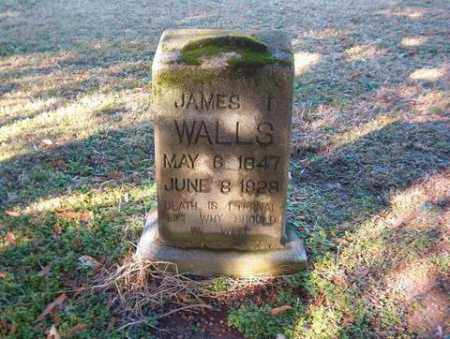 WALLS, JAMES I. - Cross County, Arkansas | JAMES I. WALLS - Arkansas Gravestone Photos