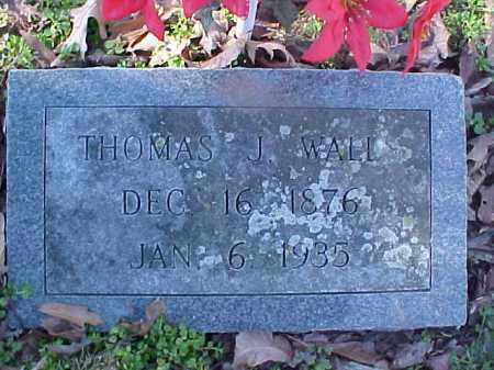 WALLS, THOMAS J - Cross County, Arkansas | THOMAS J WALLS - Arkansas Gravestone Photos