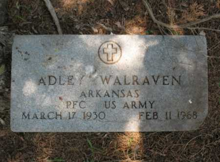 WALRAVEN  (VETERAN), ADLEY - Cross County, Arkansas | ADLEY WALRAVEN  (VETERAN) - Arkansas Gravestone Photos