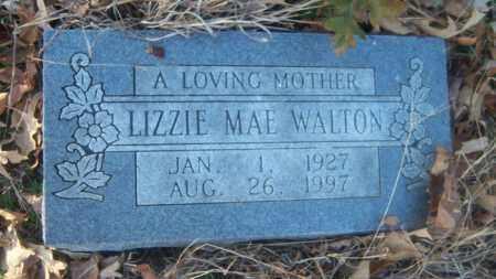 WALTON, LIZZIE MAE - Cross County, Arkansas | LIZZIE MAE WALTON - Arkansas Gravestone Photos