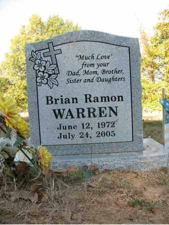 WARREN, BRIAN RAMON - Cross County, Arkansas | BRIAN RAMON WARREN - Arkansas Gravestone Photos