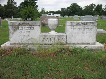 WARREN, CHARLES FLETCHER - Cross County, Arkansas | CHARLES FLETCHER WARREN - Arkansas Gravestone Photos