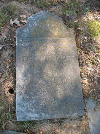 WARREN, CATHERINE - Cross County, Arkansas | CATHERINE WARREN - Arkansas Gravestone Photos