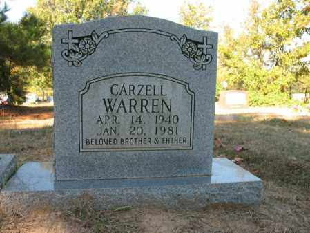 WARREN, CARZELL - Cross County, Arkansas | CARZELL WARREN - Arkansas Gravestone Photos