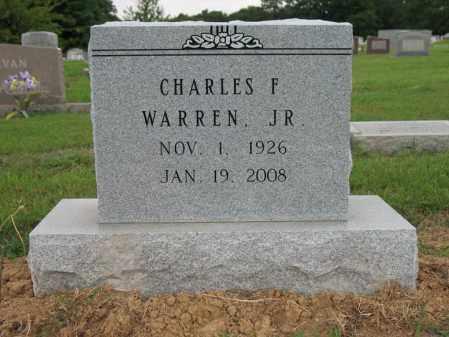 WARREN, JR., CHARLES FLETCHER - Cross County, Arkansas | CHARLES FLETCHER WARREN, JR. - Arkansas Gravestone Photos