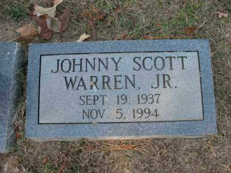 WARREN, JR., JOHNNY SCOTT - Cross County, Arkansas | JOHNNY SCOTT WARREN, JR. - Arkansas Gravestone Photos