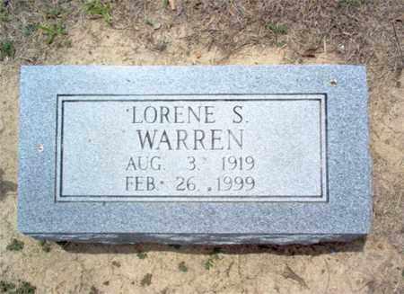 WARREN, LORENE S - Cross County, Arkansas | LORENE S WARREN - Arkansas Gravestone Photos