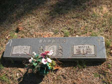 WARREN, MINTER - Cross County, Arkansas | MINTER WARREN - Arkansas Gravestone Photos