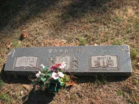 WARREN, QUEEN R - Cross County, Arkansas | QUEEN R WARREN - Arkansas Gravestone Photos