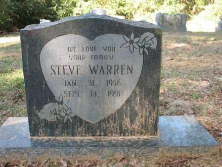 WARREN, STEVE - Cross County, Arkansas | STEVE WARREN - Arkansas Gravestone Photos