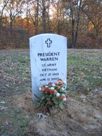 WARREN (VETERAN VIET), PRESIDENT - Cross County, Arkansas | PRESIDENT WARREN (VETERAN VIET) - Arkansas Gravestone Photos