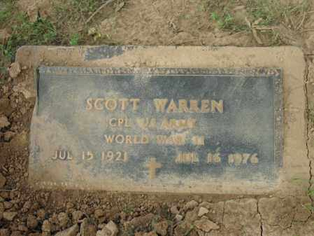 WARREN (VETERAN WWII), SCOTT - Cross County, Arkansas | SCOTT WARREN (VETERAN WWII) - Arkansas Gravestone Photos