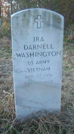 WASHINGTON (VETERAN VIET), IRA DARNELL - Cross County, Arkansas | IRA DARNELL WASHINGTON (VETERAN VIET) - Arkansas Gravestone Photos