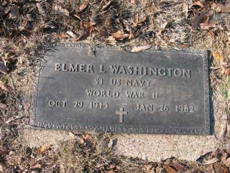 WASHINGTON (VETERAN WWII), ELMER LOUIS - Cross County, Arkansas | ELMER LOUIS WASHINGTON (VETERAN WWII) - Arkansas Gravestone Photos