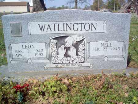 WATLINGTON, LEON - Cross County, Arkansas | LEON WATLINGTON - Arkansas Gravestone Photos