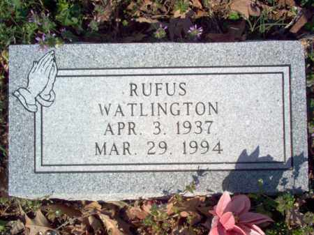 WATLINGTON, RUFUS - Cross County, Arkansas | RUFUS WATLINGTON - Arkansas Gravestone Photos