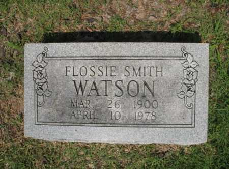SMITH WATSON, FLOSSIE - Cross County, Arkansas | FLOSSIE SMITH WATSON - Arkansas Gravestone Photos