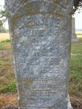 WATSON, JENNIE - Cross County, Arkansas | JENNIE WATSON - Arkansas Gravestone Photos