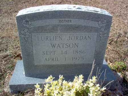 JORDAN WATSON, LURLIEN - Cross County, Arkansas | LURLIEN JORDAN WATSON - Arkansas Gravestone Photos