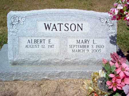 WATSON, MARY L - Cross County, Arkansas | MARY L WATSON - Arkansas Gravestone Photos