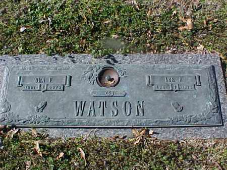 WATSON, LEE A - Cross County, Arkansas | LEE A WATSON - Arkansas Gravestone Photos