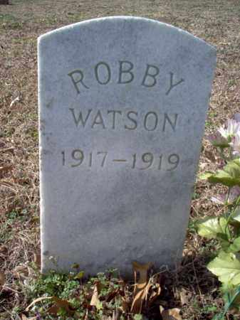 WATSON, ROBBY - Cross County, Arkansas | ROBBY WATSON - Arkansas Gravestone Photos
