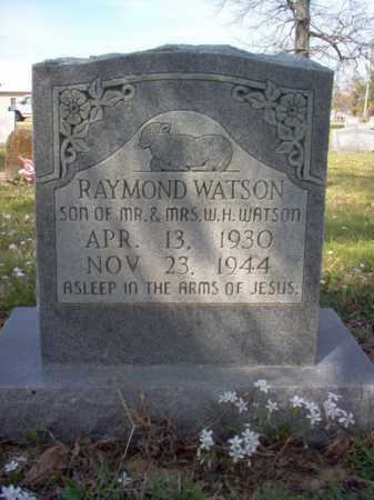 WATSON, RAYMOND - Cross County, Arkansas | RAYMOND WATSON - Arkansas Gravestone Photos