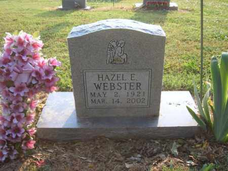 WEBSTER, HAZEL E - Cross County, Arkansas | HAZEL E WEBSTER - Arkansas Gravestone Photos
