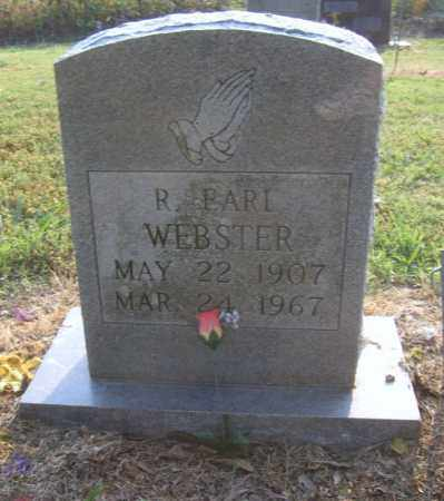 WEBSTER, R EARL - Cross County, Arkansas | R EARL WEBSTER - Arkansas Gravestone Photos