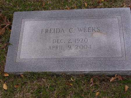 WEEKS, FREIDA C - Cross County, Arkansas | FREIDA C WEEKS - Arkansas Gravestone Photos
