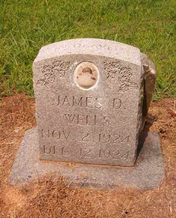 WELLS, JAMES D. - Cross County, Arkansas | JAMES D. WELLS - Arkansas Gravestone Photos
