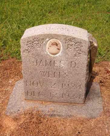 WELLS, JAMES D. - Cross County, Arkansas | JAMES D. WELLS - Arkansas Gravestone Photos