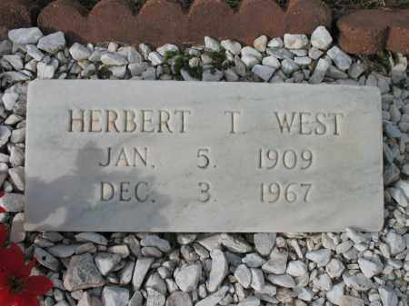 WEST, HERBERT T - Cross County, Arkansas | HERBERT T WEST - Arkansas Gravestone Photos