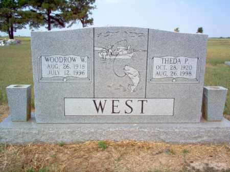 WEST, THEDA P - Cross County, Arkansas | THEDA P WEST - Arkansas Gravestone Photos